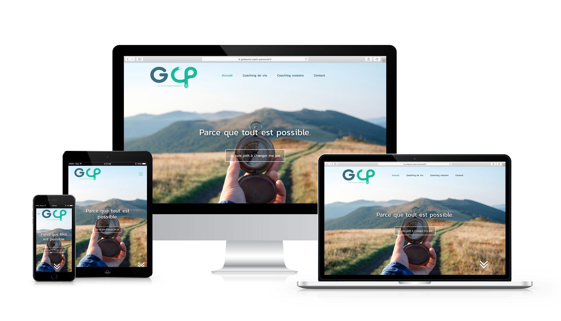 Création site internet Fox Webdesign Bordeaux - GCP