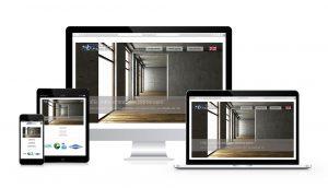 Site vitrine responsive design d'une menuiserie