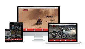 Création site web one page - webdesigner Bordeaux